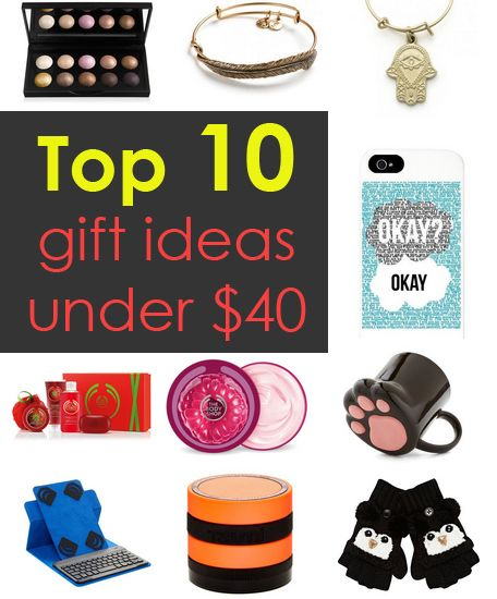 10 Gift Ideas Under $40 | [College] Trends | Gifts ...