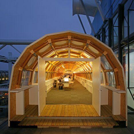 Key projects by 2014 pritzker prize laureate shigeru ban for Architecture ephemere shigeru ban