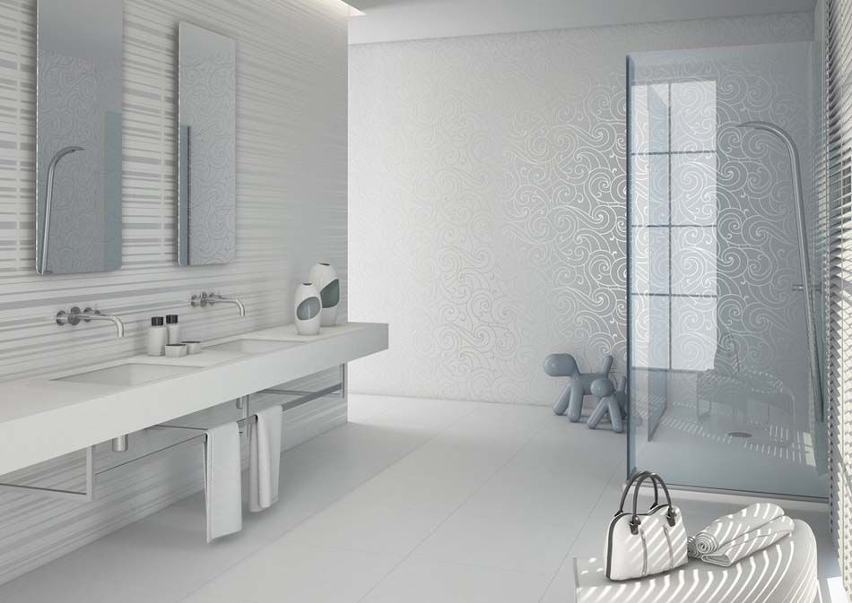 Des teintes sombres pour une salle de bain moderne | Salles de ...
