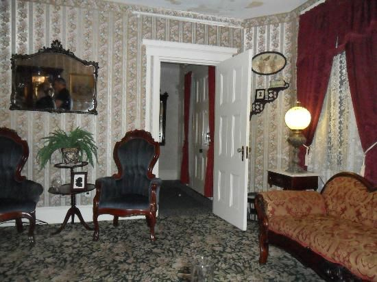 Lizzie Borden Bed And Breakfast Fall River Picture Mom Sitting