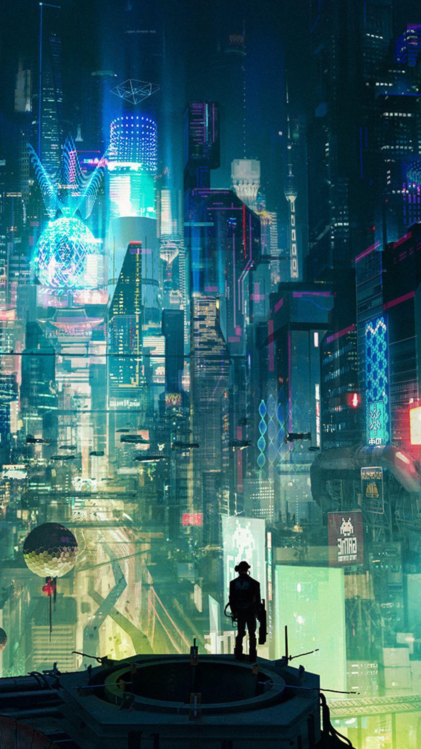 cyberpunkcityrt1440x2560.jpg 1,440×2,560 pixels 街並み