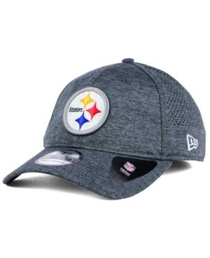 the latest e69a0 d0315 New Era Pittsburgh Steelers Shadow Tech 39THIRTY Cap - Gray L XL