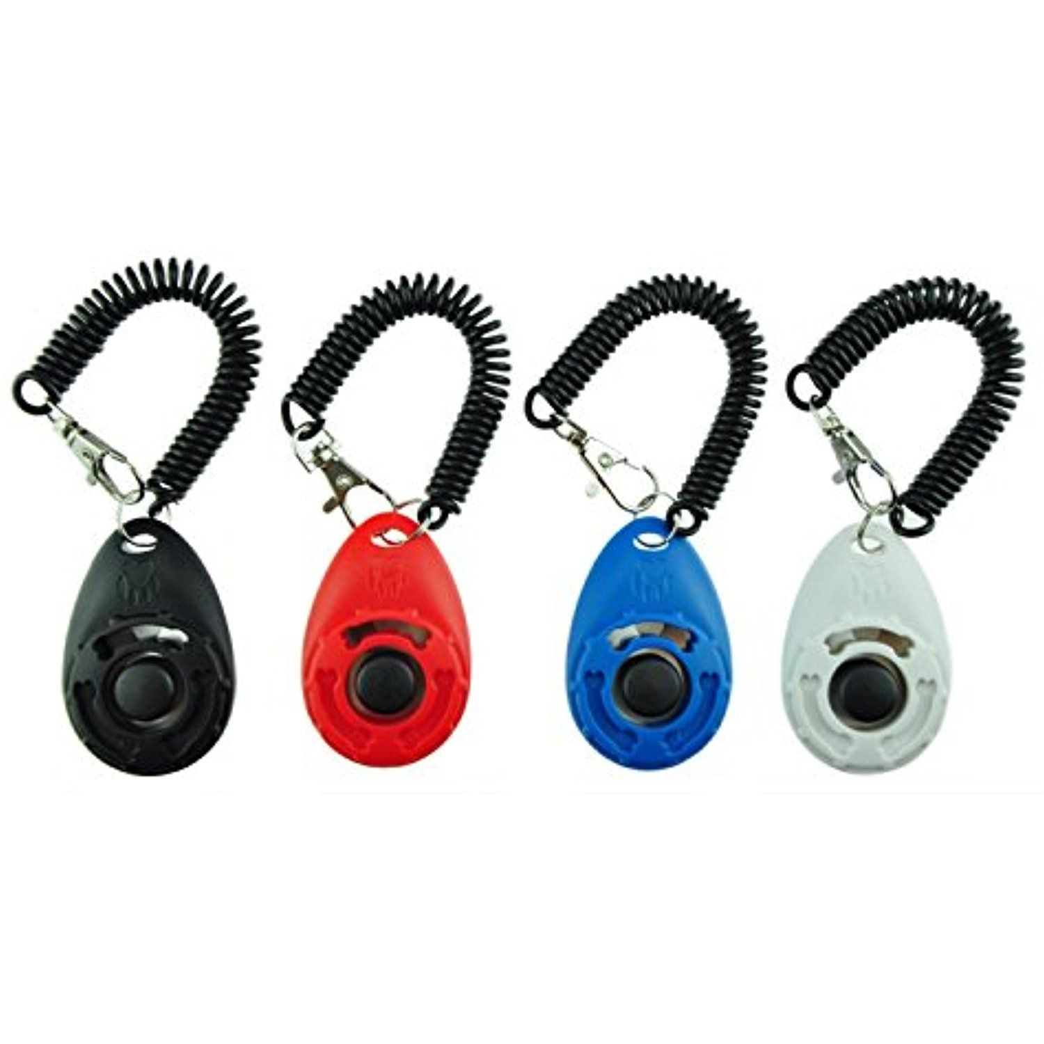 Dog Training Clicker With Wrist Strap Pet Training Clicker Pet