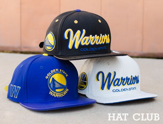 Pro Standard Golden State Warriors Strapback Caps   HAT CLUB ... 5dc69018f3d