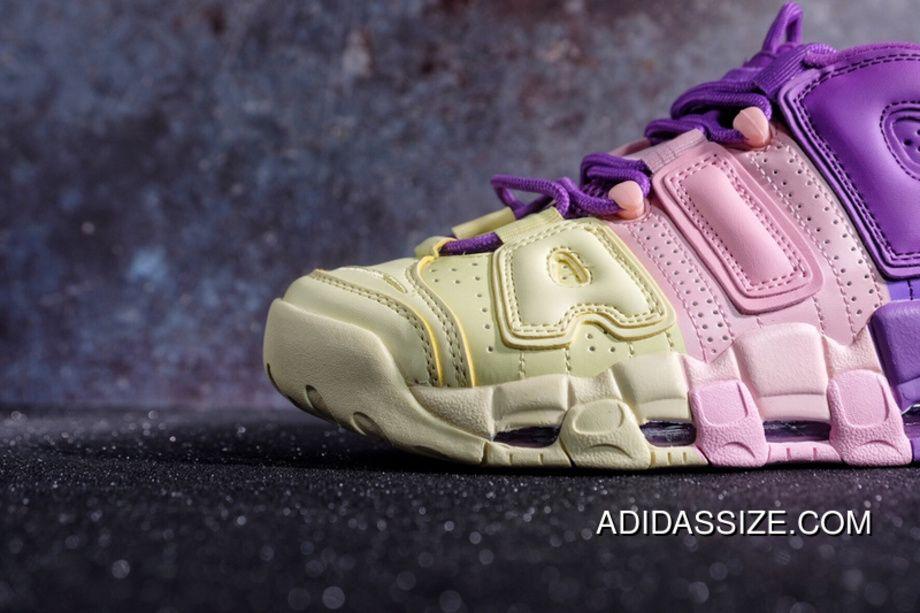 3479e1bf8fc 2019 的 Nike Air More Uptempo '96 GS AV8237-800 Citron/Pink/Bright ...