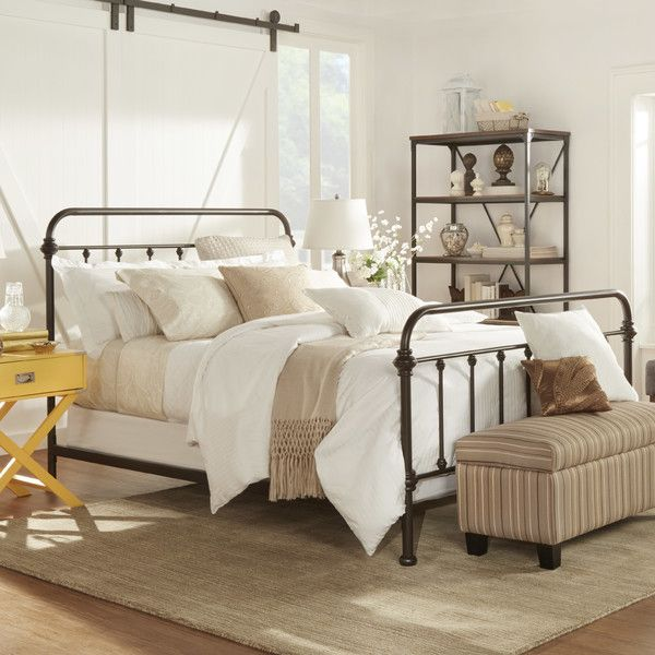 232 wrought iron bed master inspiration in 2019 - Bedroom furniture for small rooms ...