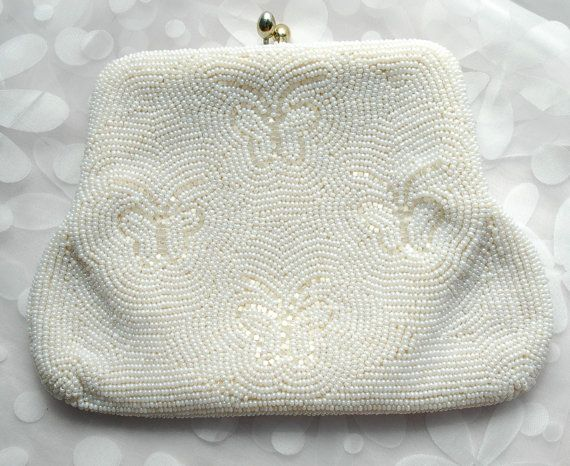 vintage beaded purse by TheHoneyDewShop on Etsy, $20.00