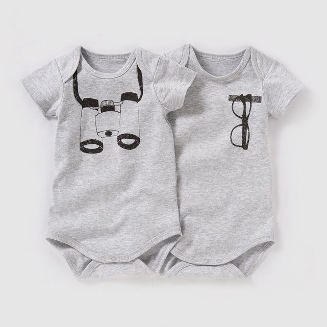 Body trompe l œil (lot de 2) 0 mois-3 ans R baby   prix 3efe10e84ac