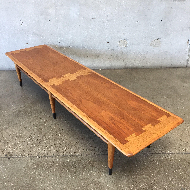 1963 Vintage Mid Century Lane Acclaim Coffee Table Coffee Table