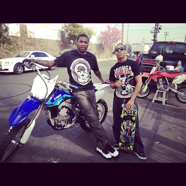 Chino From Baltimore Doin It Big With Meek Milly Miami Bike