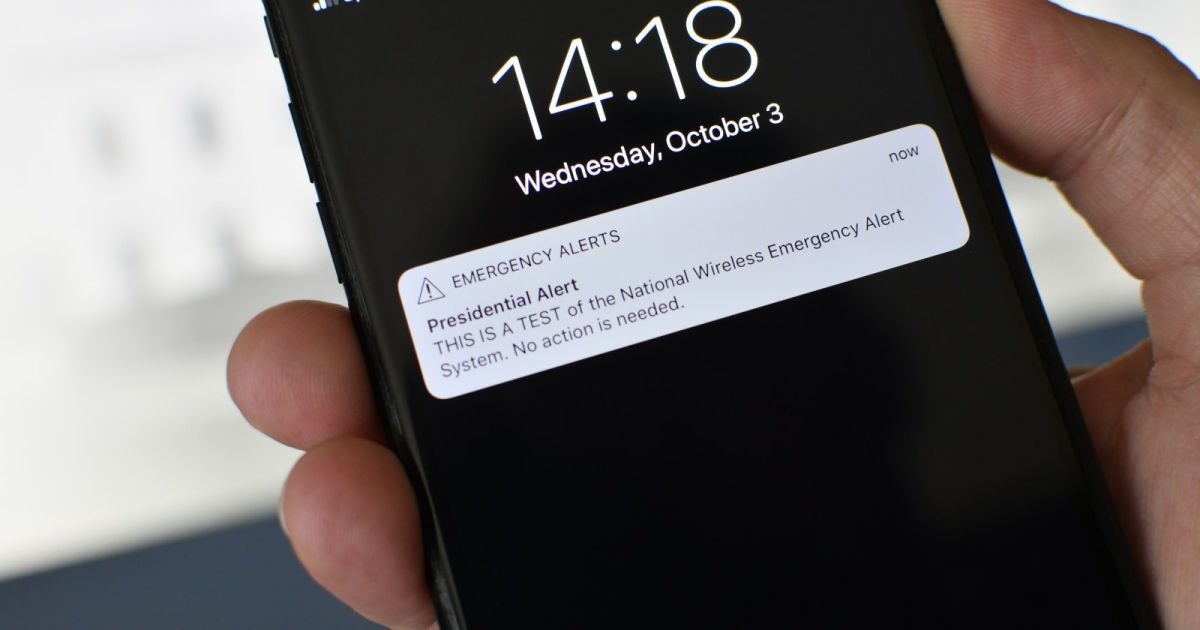 Us Wireless Emergency Alerts Are Now More Locally Targeted Safety Message Emergency Alert System App Design Inspiration