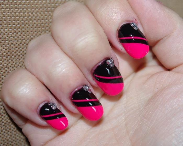 Узоры на ногтях для начинающих поэтапно фото 5