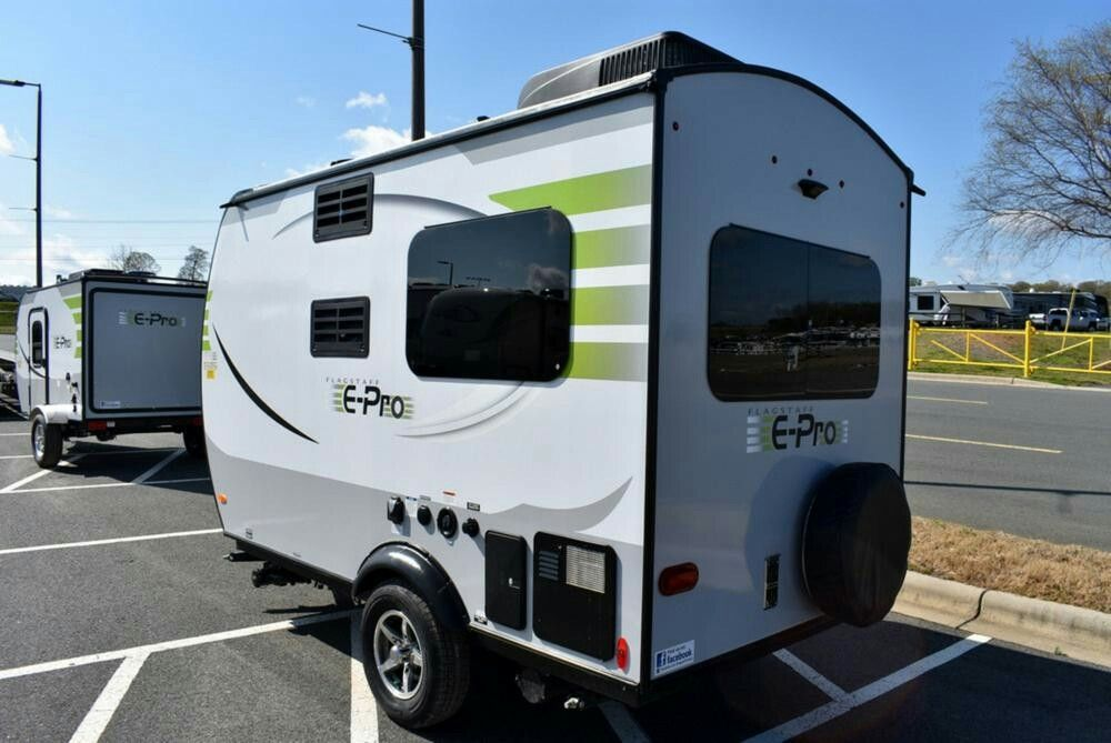 2017 Forest River Flagstaff E Pro 14fk Teardrop Trailer Camping