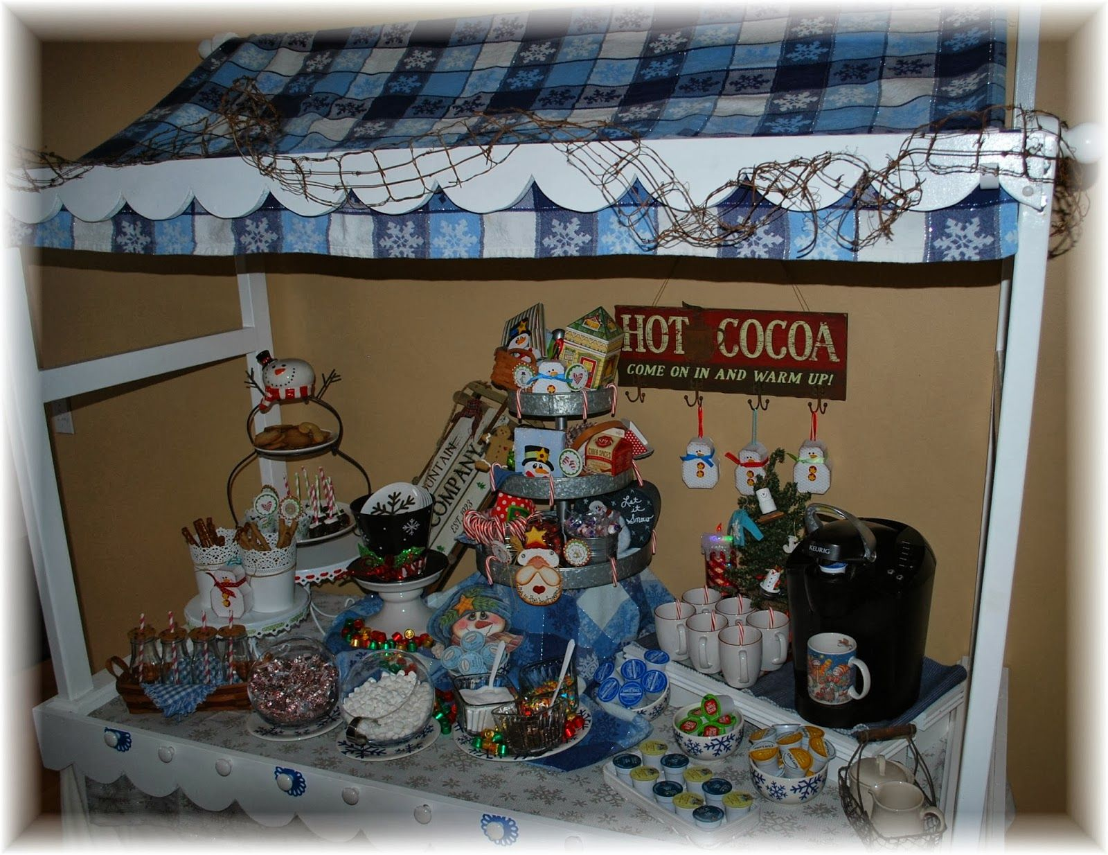 Polka Dots and Parties: Tabletop Candy Shop