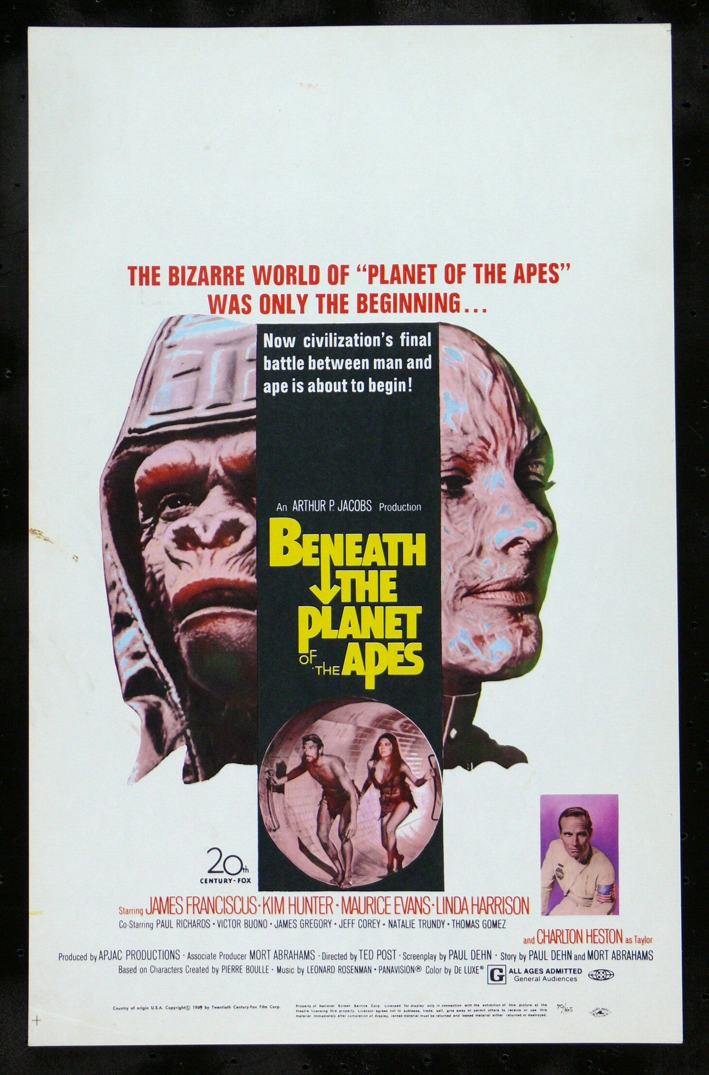 Beneath The Planet Of The Apes With Images Planet Of The Apes