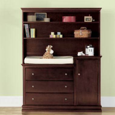 Savanna Tori Changing Table or Hutch - Espresso found at @JCPenney ...