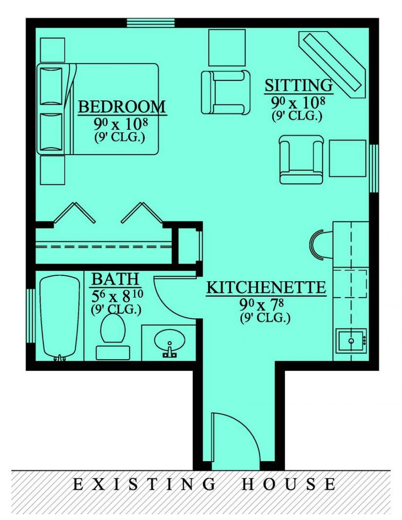 This Is The Basic Layout For My Casita Apartment In Law House Mother In Law Apartment Bedroom Addition Plans