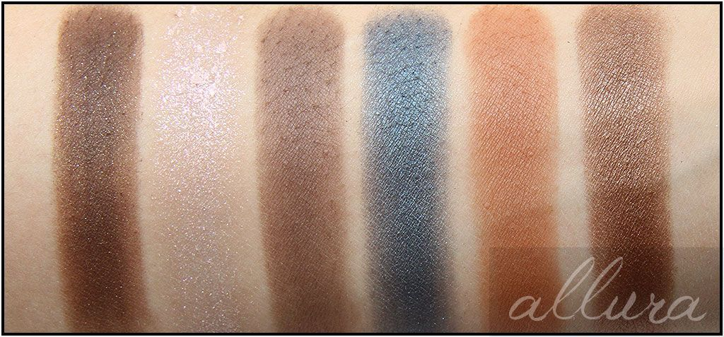 Too Faced Semi Sweet Chocolate Bar Palette Swatches: Row 2
