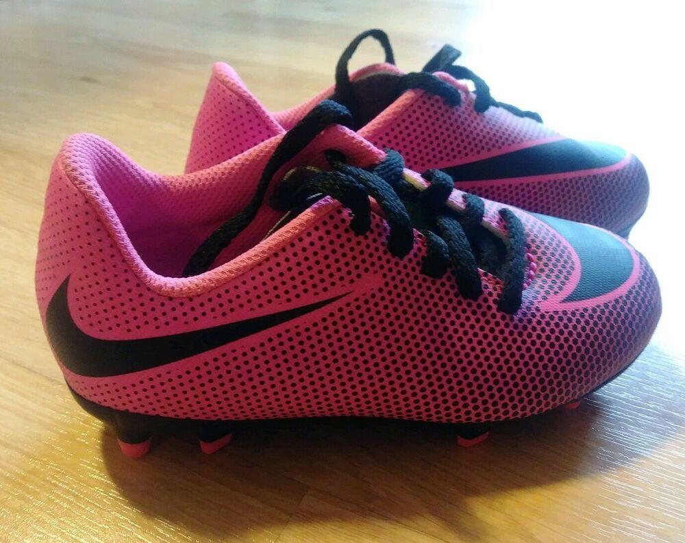 Óptima Jarra Sip  Advertisement(eBay) NIKE Kid/Toddler Soccer Cleats for Girls, SIZE: 10c,  COLOR: Pink | Toddler soccer, Girls soccer shoes, Pink soccer cleats