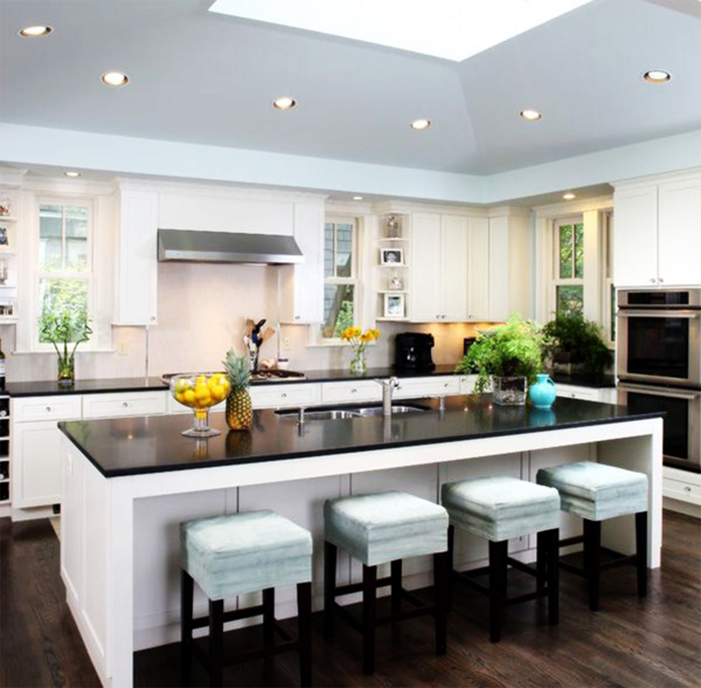 kitchen island with sink and dishwasher and seating | Kitchen Island Ideas  | Pinterest | Dishwashers, Sinks and Kitchens