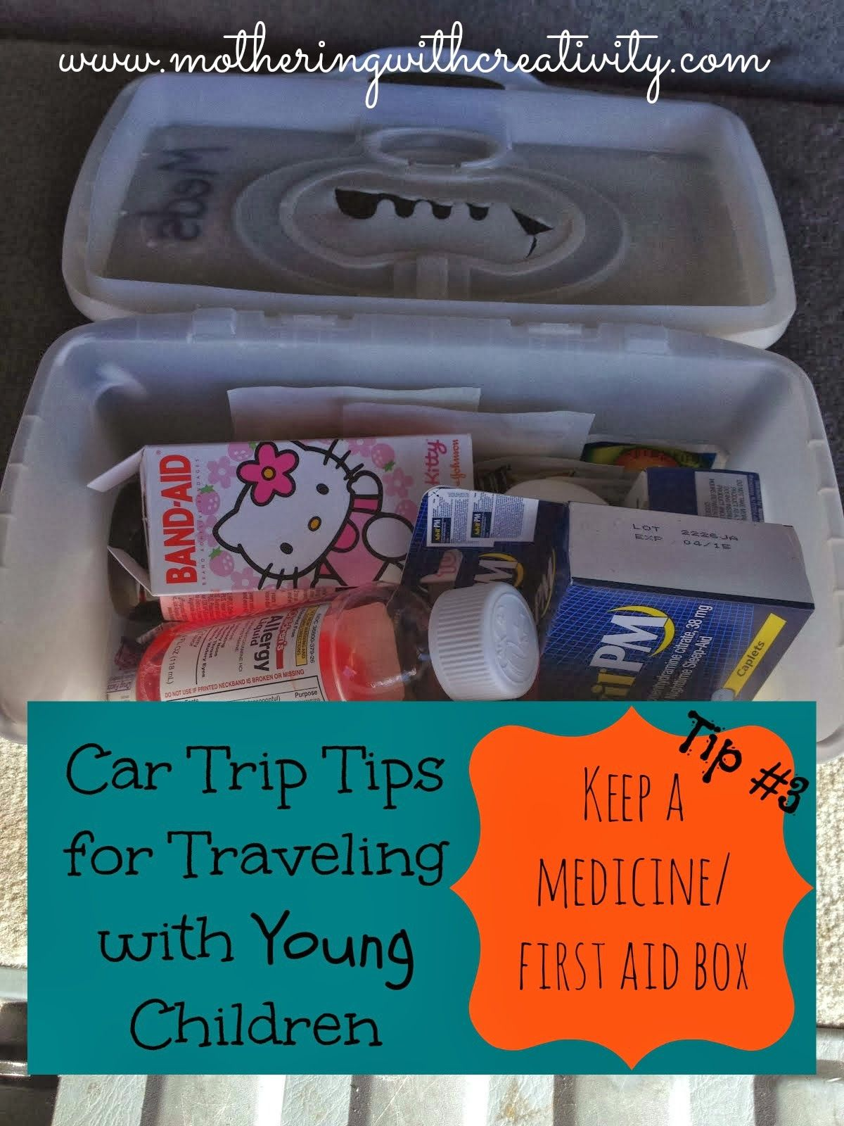 Mothering with creativity car trip tips for traveling with young
