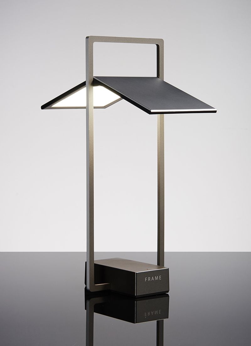 frame oled desk lamp by lg display oled lamps. Black Bedroom Furniture Sets. Home Design Ideas