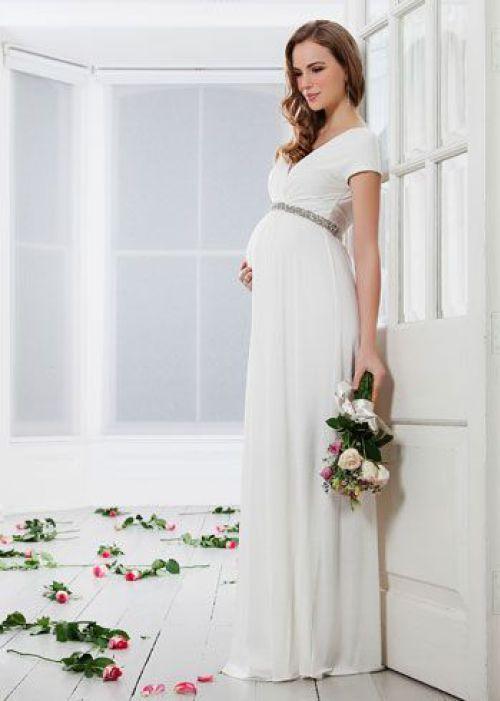 Noivas Grávidas Os Vestidos Das Famosas Embarazada
