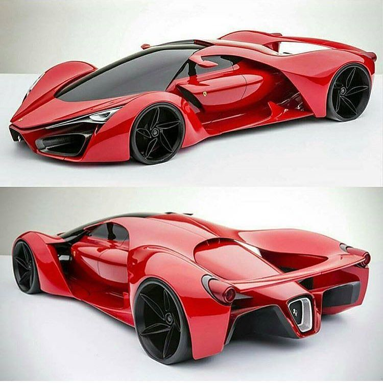 "Exotics And Luxury Cars on Instagram: ""New Ferrari F80 Concept �� Via @adrianoraeli #epicwhips #cars #car #drive #sportscar #vehicle #vehicles #sportscars #exotic #exoticcar…"""