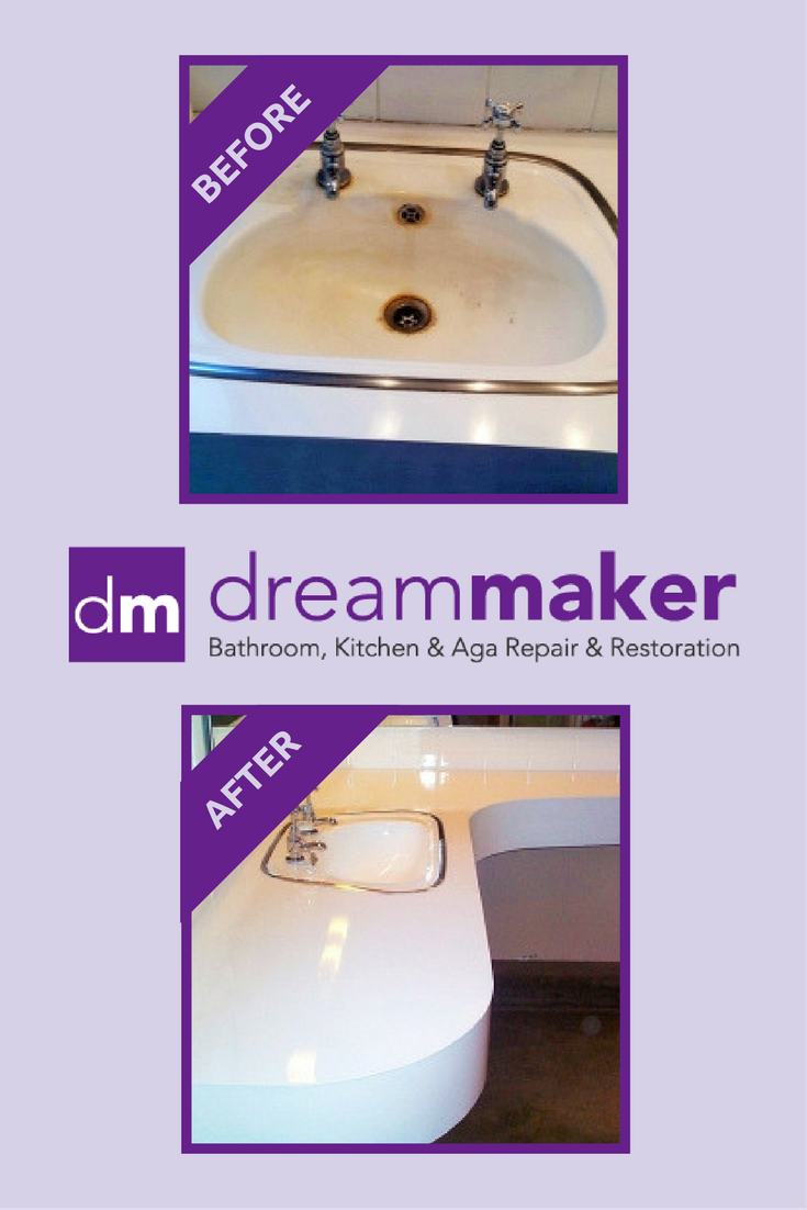 We will transform your basin and sink either by repairing the damage ...