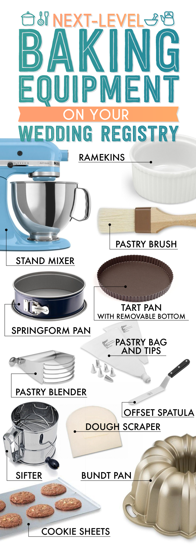 The Essential Wedding Registry List For Your Kitchen ...