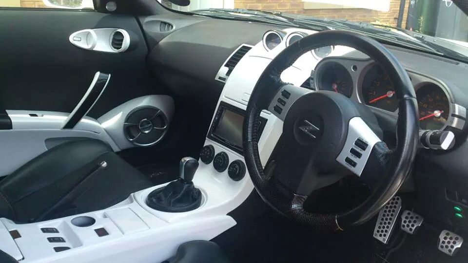 Nissan 350z White Interior