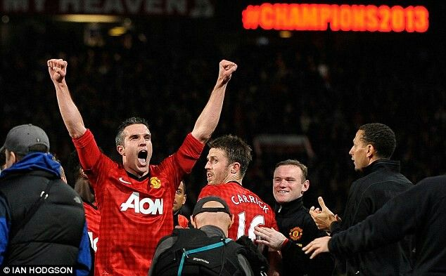 Dreams come true: RVP has got his just rewards, winning the title after eight barren years at Arsenal