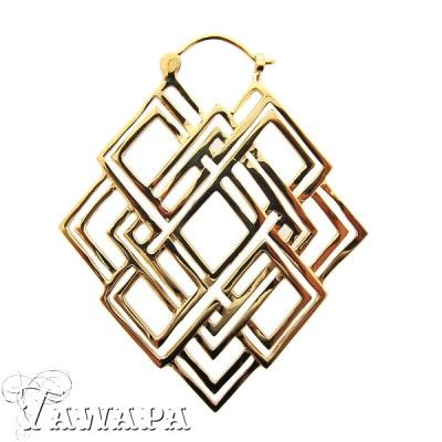 Gold Plated Geometric