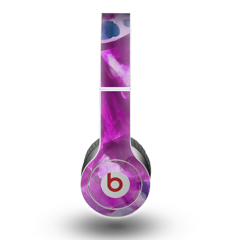 The Grunge Watercolor Pink Strokes Skin for the Beats by Dre Original Solo-Solo HD Headphones