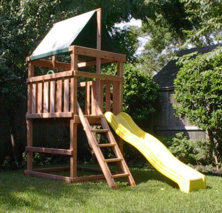 Endeavor Redwood Fort/ Swingset And DIY Plans Gallery ...