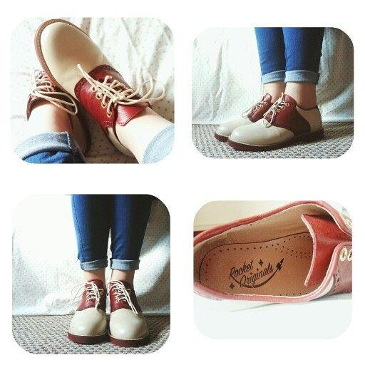 Rocket Originals Oxford Saddle Shoes