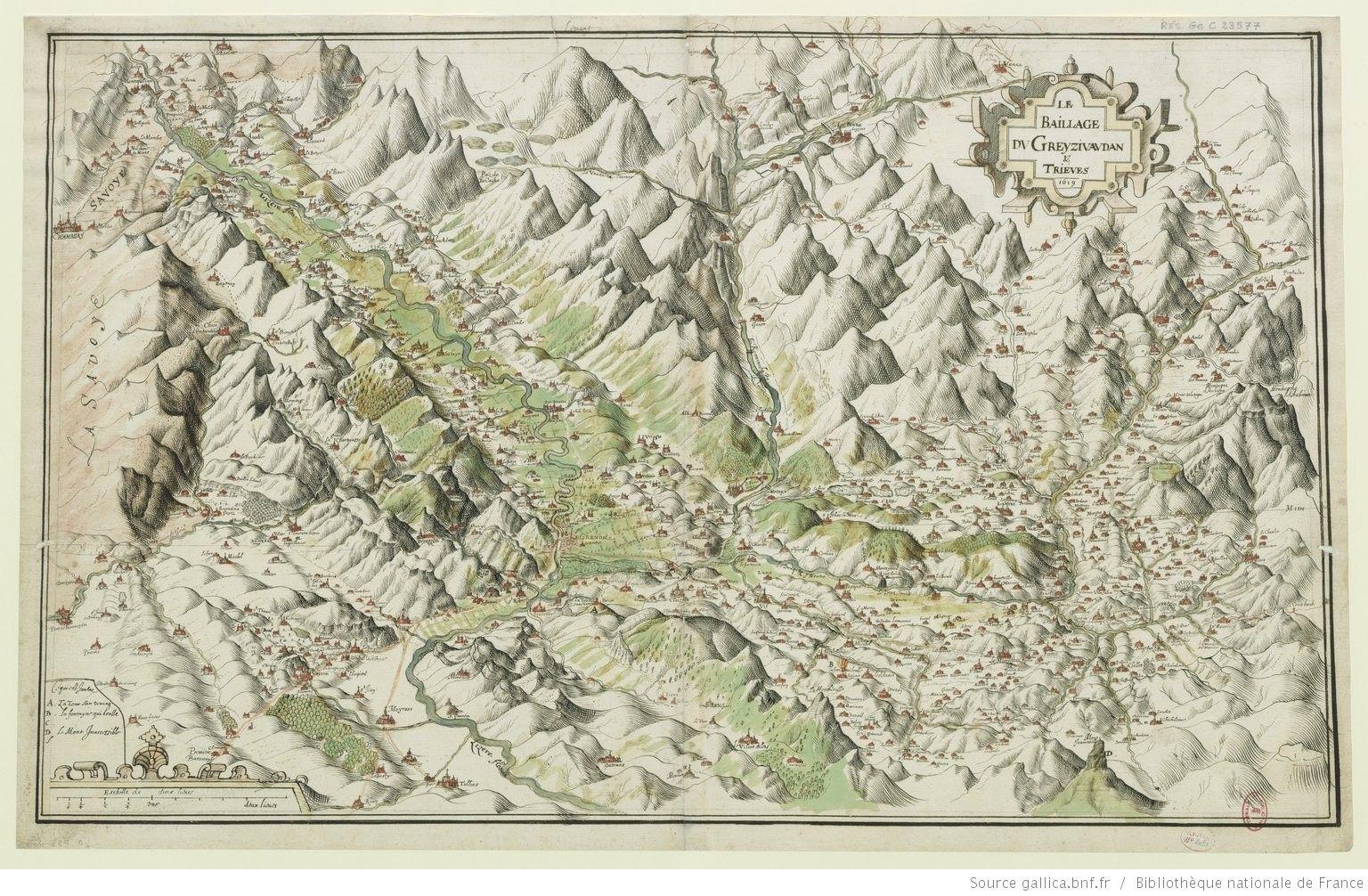 Le baillage de Greysivaudan & Trieves [Isère]