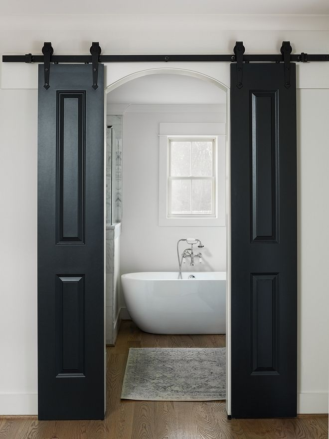 Blue Black By Farrow And Ball Farmhouse Inspired By Barn