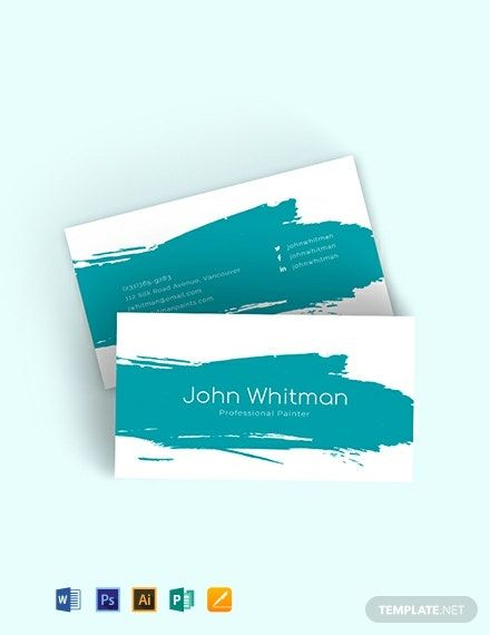 Pin on Business Card Templates & Designs