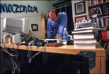 Jeff Bezos Desk Famously Made Of