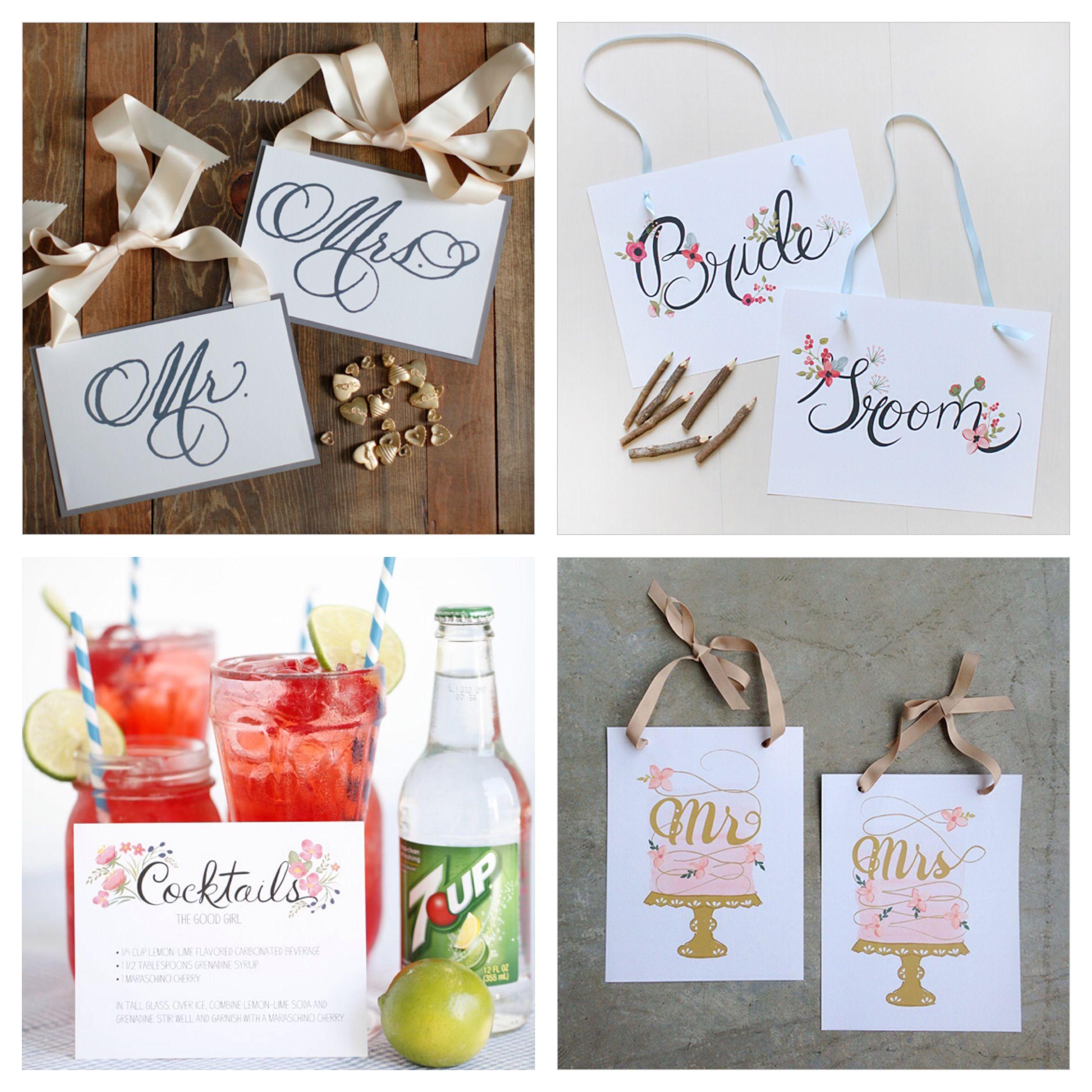 Wedding Chicks Free Invitations: Pin By Wedding Chicks On Freebies & Free Printables