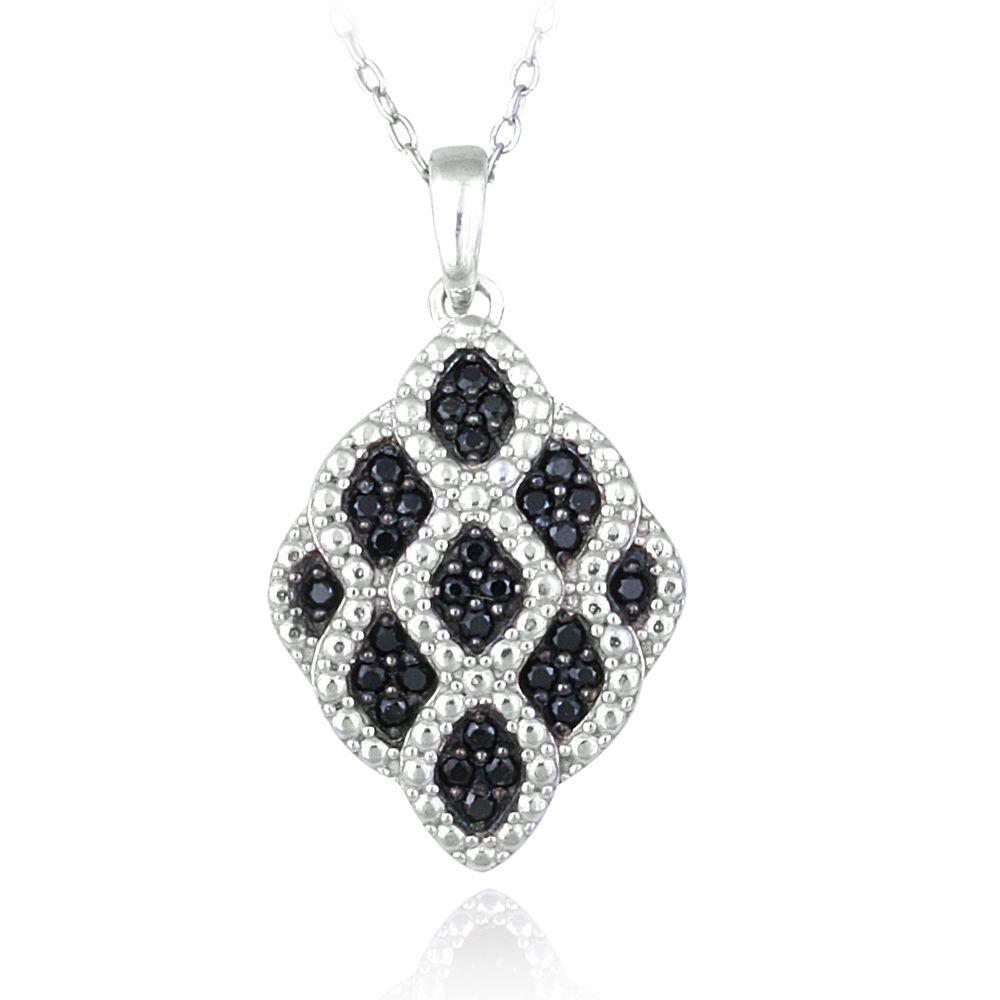 Glitzy Rocks Sterling Silver Spinel Necklace, Women's