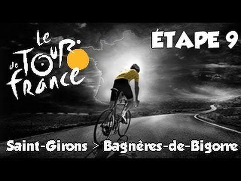 Tour de France 2013 | Etape 9 : Saint Girons - Bagnères de Bigorre [HD] [Fr]