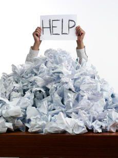 Zu einem ordentlichen Selbstmanagent gehört ein guter Umgang mit dem Papierwust. Am besten ohne Papier? :-)
