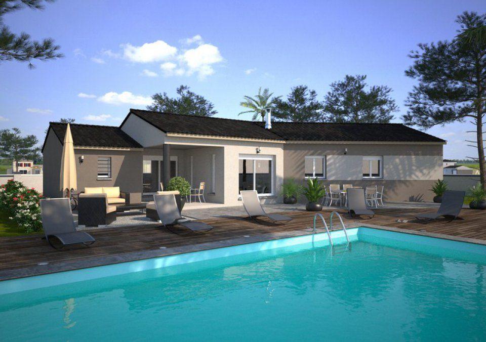 plan maison terrain 500m2. Black Bedroom Furniture Sets. Home Design Ideas