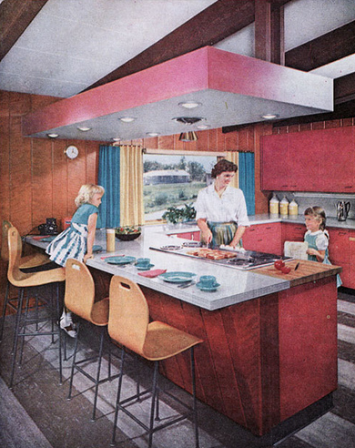 Best Post War Modern Kitchen If I Win The Lottery I M Sooo 400 x 300