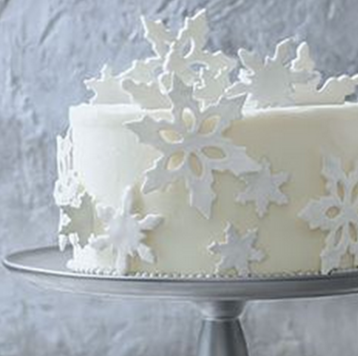 White Christmas Wonderland ☆ Cake Decorating Ideas ...