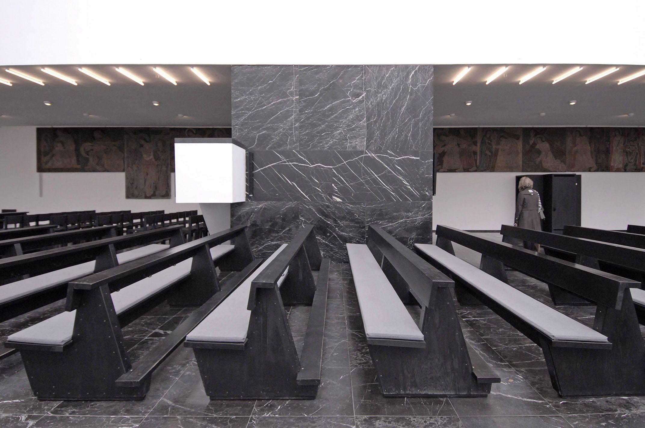 Церковь st fronleichnam архитектора и богослова Рудольфа Шварца  Церковь st fronleichnam архитектора и богослова Рудольфа Шварца Германия 1930 год