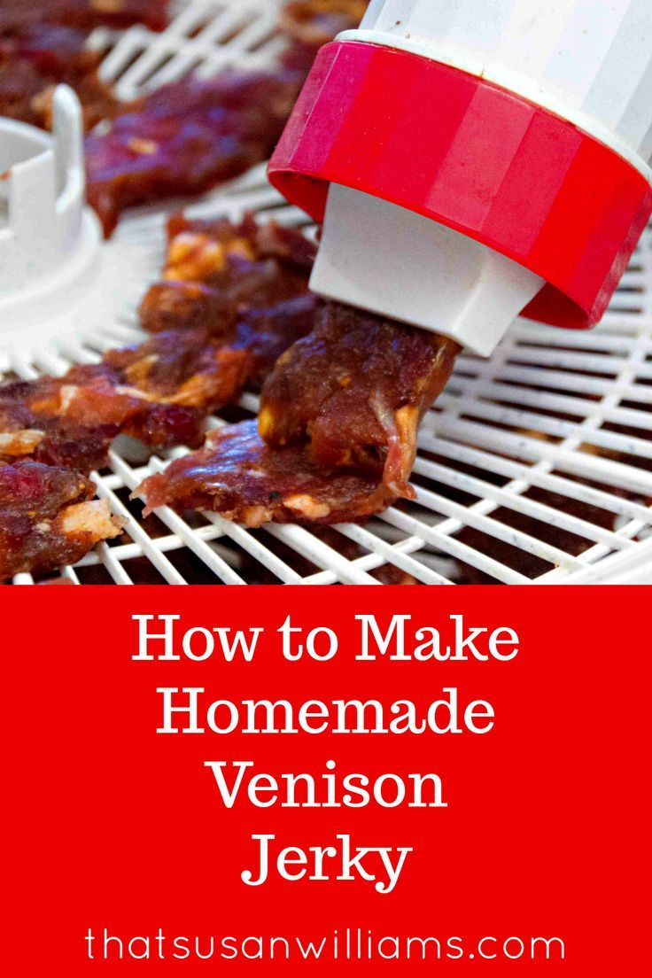 Homemade Venison Jerky A delicious recipe for pemmican
