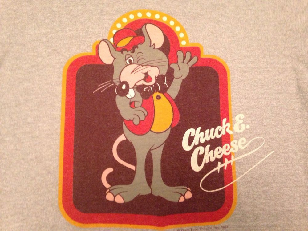 4b180c79d vintage chuck e. cheese tee 1981 #80s pizza soft thin shirt from $59.99